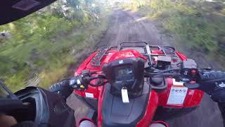 3. Testing The Brand New Honda Foreman 475