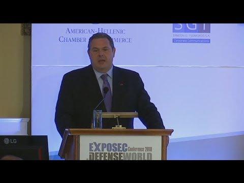 "Eκτο (6ο) ετήσιο συνέδριο EXPOSEC-DEFENSEWORLD με θέμα ""'Αμυνα και Ασφάλεια σε ένα ψηφιακό κόσμο"""