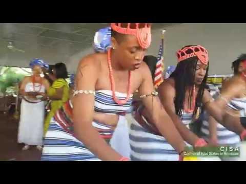 Igbo Girls (Umu Agbogho) Dance to 'Ada Ada' music at the 2016 Igbo World Festival
