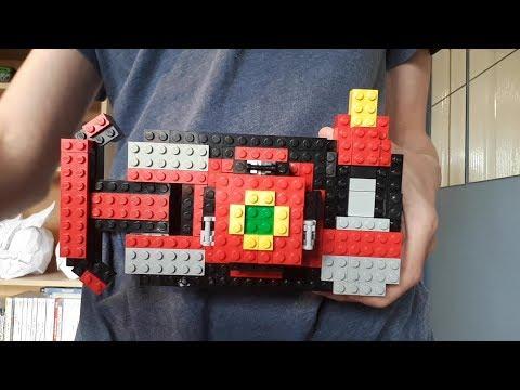 Lego Armour Hero Captor Belt / LEGO 铠甲勇士捕将带 видео