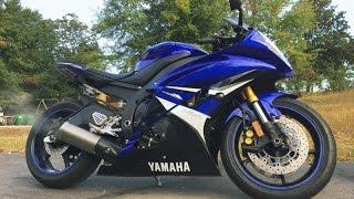 9. 2008 Yamaha YZF-R6  Walkaround Video (0945)