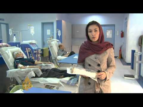 Iran's hospitals feel pain of sanctions