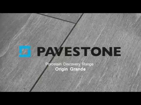 Video of 1200mm x 600mm Discovery Origin Grande Porcelain Paving 28 Pieces