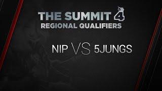 5Jungs vs NIP, game 1