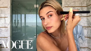 Download Video Hailey Baldwin's 5-Step Guide to Faking a California Glow | Beauty Secrets | Vogue MP3 3GP MP4