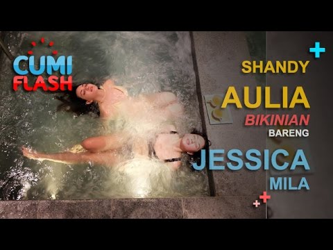 gratis download video - Shandy-Aulia-Bikinian-Bareng-Jessica-Mila--CumiFlash-23-Februari-2017