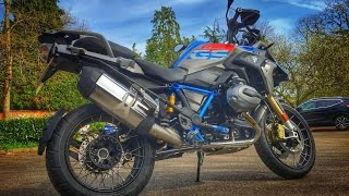 2. 2017 BMW R1200GS Rallye Review