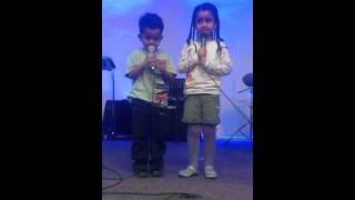 Saron4&Jonathan 2 Sings Amharic Oldies Song