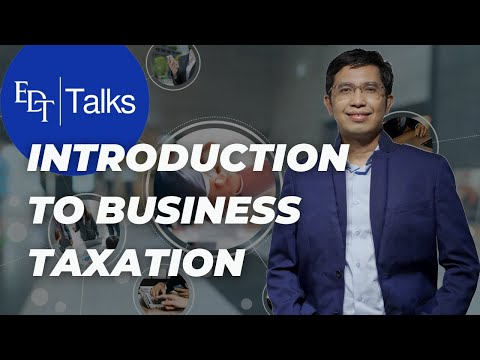Introduction to Business Taxation, episode 1 of 4