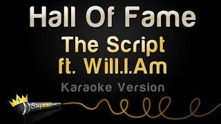 Video The Script ft. Will.I.Am - Hall Of Fame (Karaoke Version) MP3, 3GP, MP4, WEBM, AVI, FLV April 2018