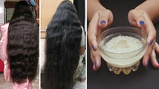 Rice Water for Fast Hair Growth