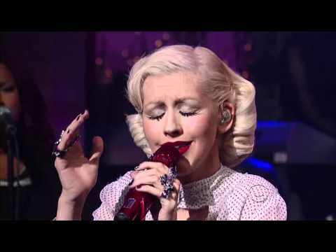 Christina Aguilera – You Lost Me [Live David Letterman] HD