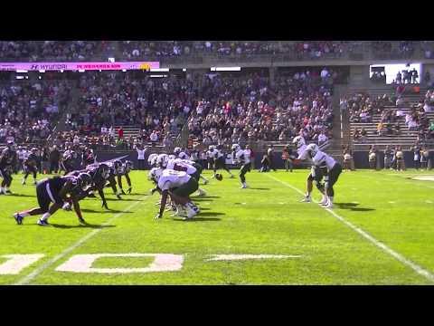 Byron Jones interception vs South Florida (USF) 2013 video.