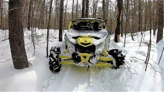 """6. You'll never make it """"Wanna bet"""" Turbo X3 tight trail challenge"""