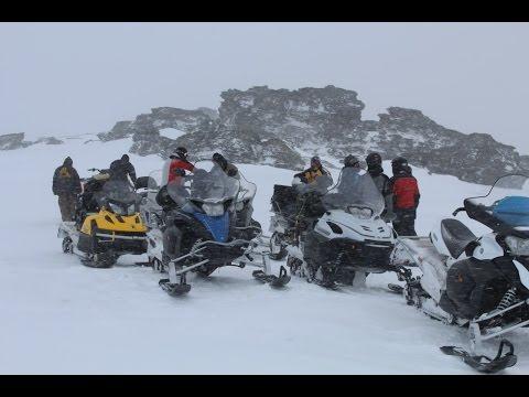 Передвижение группы на маршруте: Перевал Дятлова.
