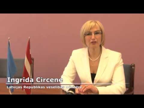 """Videorelīze: Veselības ministre Ingrīda Circene un PVO Eiropas reģionālā biroja vadītāja Zsuzsanna Jakab par konferenci """"Veselība izaugsmei"""""""