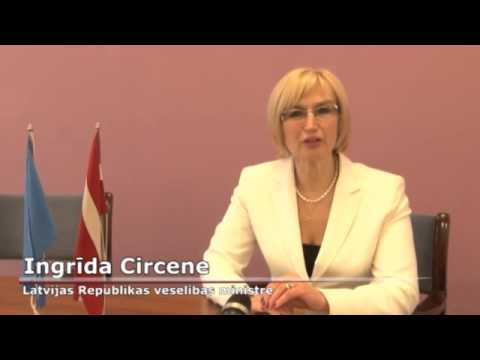Videorelze: Veselbas ministre Ingrda Circene un PVO Eiropas reionl biroja vadtja Zsuzsanna Jakab par konferenci &quot;Veselba izaugsmei&quot;