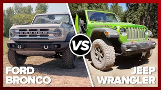 Ford Bronco vs. Jeep Wrangler: The comparison you've been waiting for by Roadshow