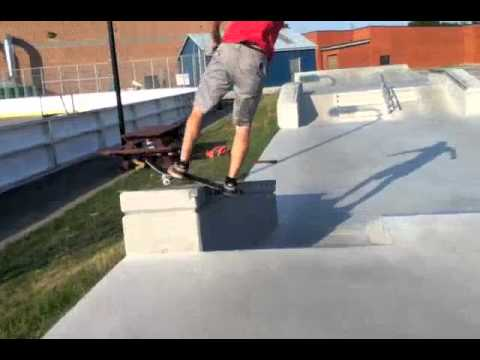 Port Dover Skatepark Summer 2011
