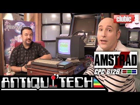Amstrad CPC 6128 en vidéo : redécouvrez l'ordinateur de jeu légendaire des années 80