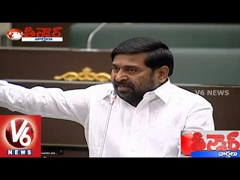 War sessions in Telangana and AP Assembly  Teenmaar News 25032015