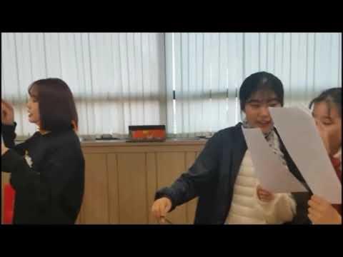 수원연기학원 블럭연기학원 제5회 정기공연 워크샵 연습중
