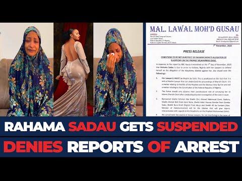 Suspended Kannywood Actress, RAHAMA SADAU Denies Being Charged To SHARIA Court