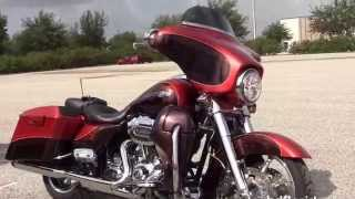 8. Used 2012 Harley Davidson CVO Street Glide Motorcycles for sale