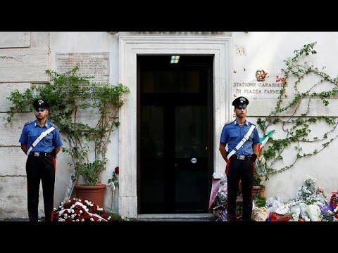 Italien: Menschen nehmen Abschied von getötetem Carab ...