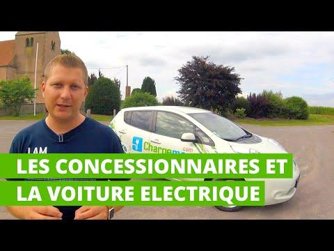 Les concessionnaires automobiles et la voiture électrique