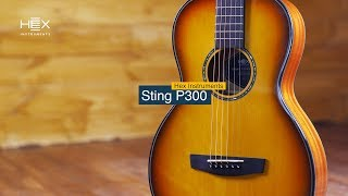 video thumbnail HEX STING P300 G/HB Solid top-upgraded guitars for performers Comfortable tension for playing jazz o youtube