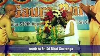Glimpses of Sri Gaura Purnima Celebrations 2015 - HKM HYDERABAD