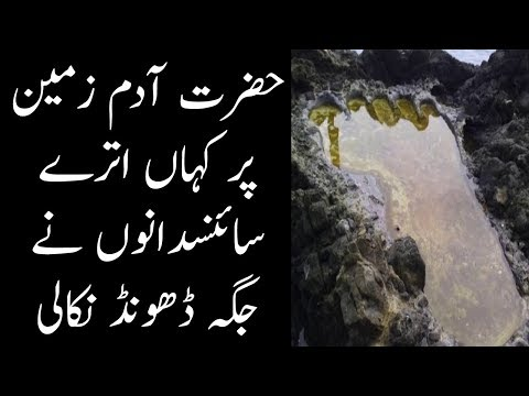 Place Where Hazrat Adam (AS) Landed On Earth Finally Gets Discovered | The Urdu Teacher