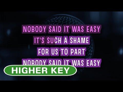 The Scientist (Karaoke Higher Key) - Coldplay