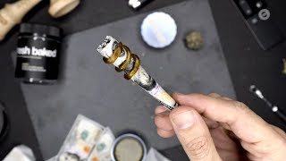 ROLLING A $100 TWAX JOINT FOR NIPSEY HUSSLE by HighRise TV