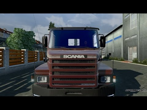 Scania 112h Intercooler