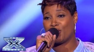 Lorie Moore Goes For Goal - THE X FACTOR USA 2013