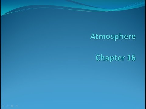 ESC1000 Earth Science Chapter 16