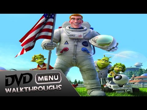Planet 51 (2009, 10) DvD Menu Walkthrough
