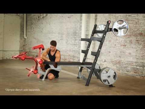 6872   IRONMAN Triathlon X Class 1500 lbs Light Commercial Utility Weight Bench