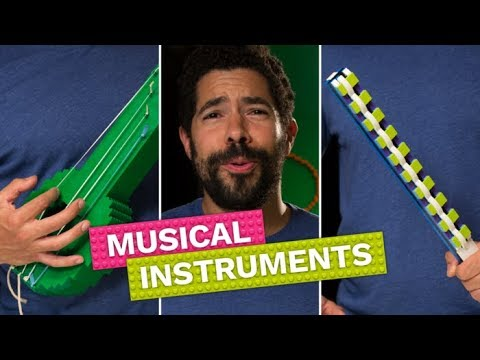 How to Make Musical Instruments With LEGO | Brick X Brick