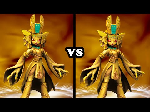 Skylanders Trap Team - Golden Queen VS Golden Queen
