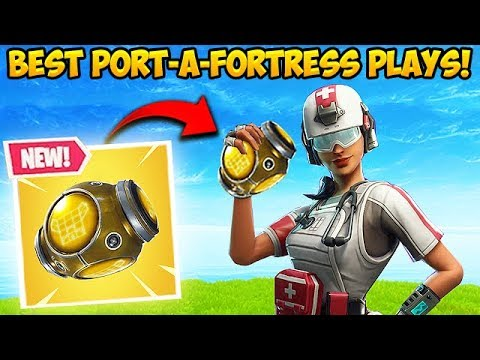*NEW* PORT-A-FORTRESS IS INSANE! - Fortnite Funny Fails and WTF Moments! _325