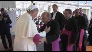 Mittwochsaudienz mit Papst Franziskus