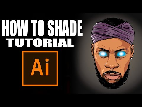 How To Shade Tutorial! - Step By Step ( ADOBE ILLUSTRATOR )