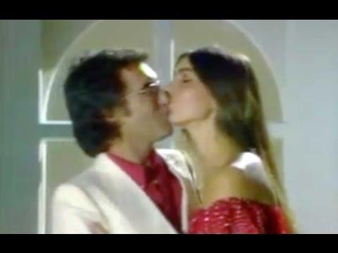 """al bano & romina - """"felicità"""" (con bacio)"""