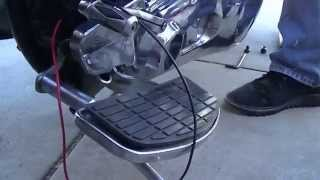 7. Harley Davidson EVO charging system diagnosis, stator test