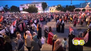 BAŞBAKAN DAVUTOĞLU SAMSUN'DAN TÜRKİYE'YE SESLENDİ: TERÖRÜ TEMİZLEMEYE KARARLIYIZ