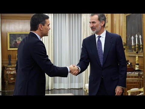 Ισπανία: Εντολή σχηματισμού κυβέρνησης έλαβε ο Σάντσεθ…