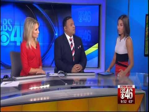 CBS46 Atlanta meteorologist Ella Dorsey responds to death threats after breaking into The Masters